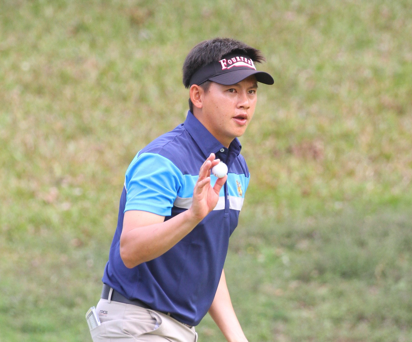 Steady Donlaphatchai holds firm to lead at the Taifong Open