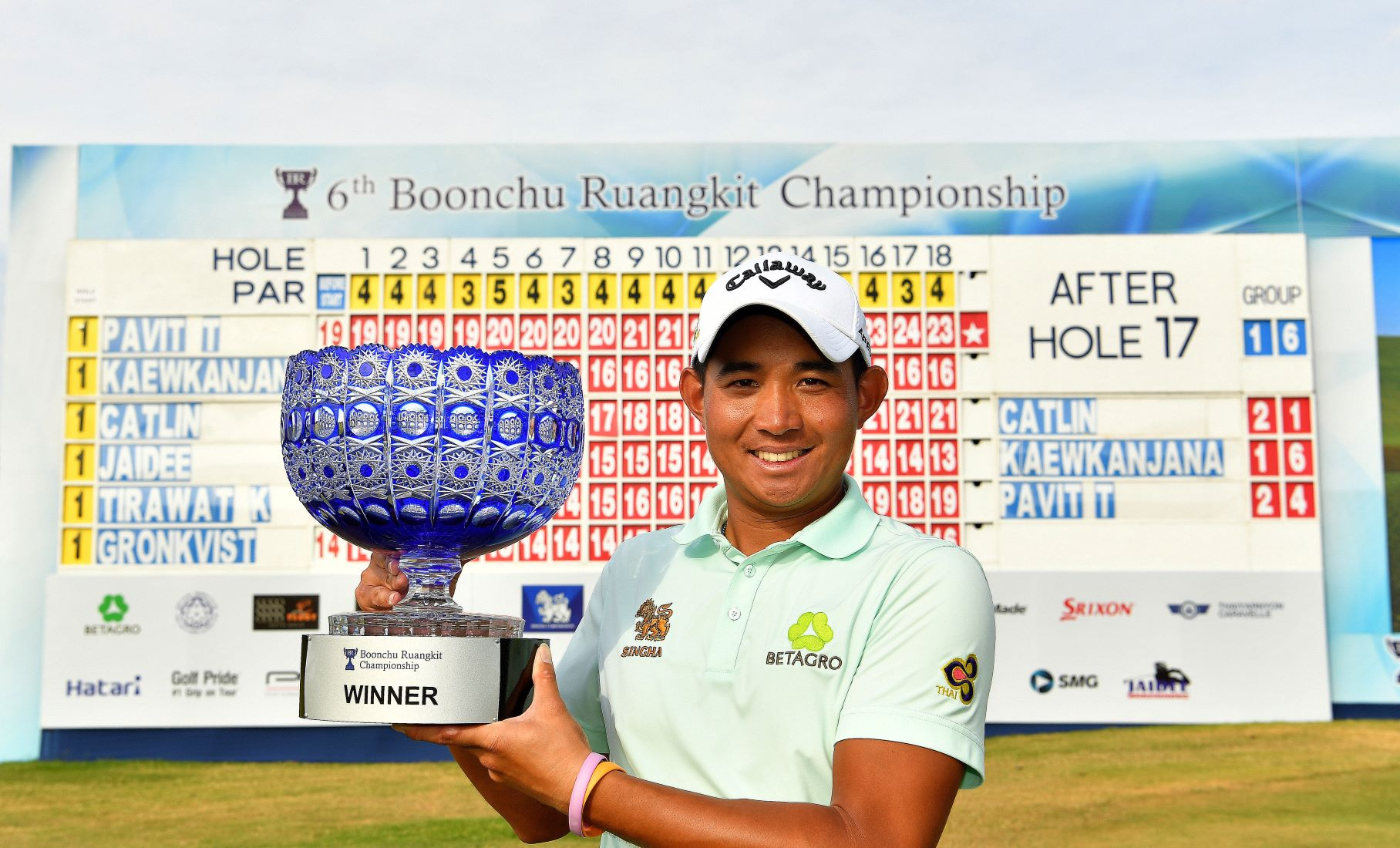 Pavit clinches record seventh ADT victory at Boonchu Ruangkit Championship