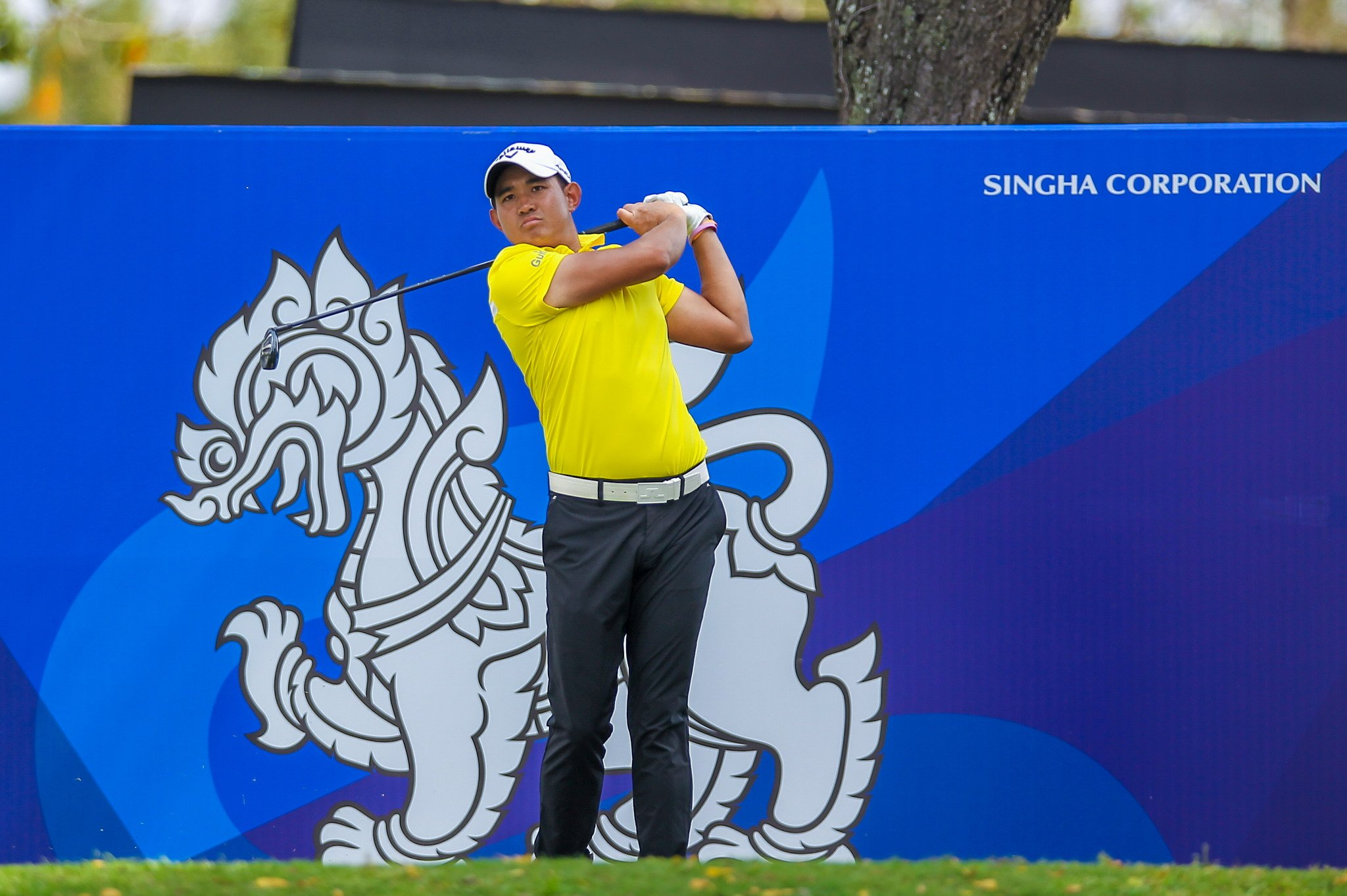 Pavit goes on birdie blitz to take slim lead at Boonchu Ruangkit Championship