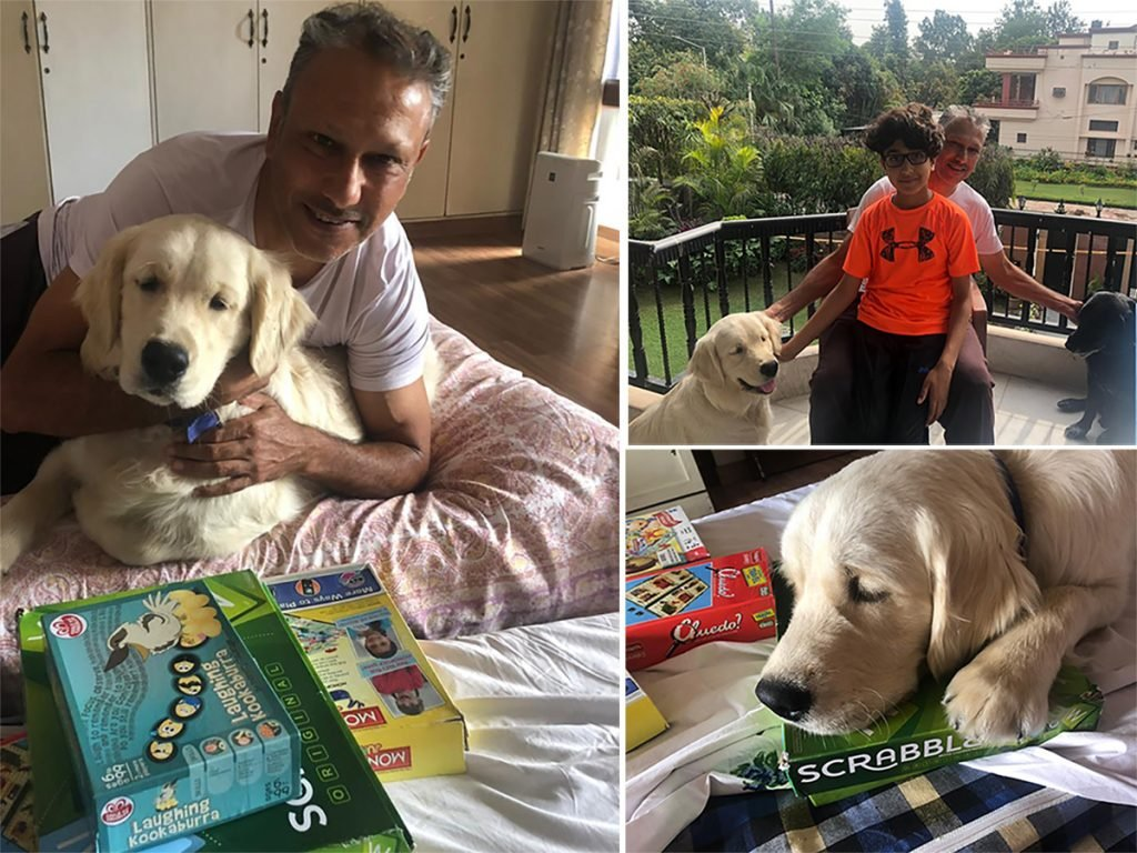 Dogs, scrabble and family keep Singh in the right spirits
