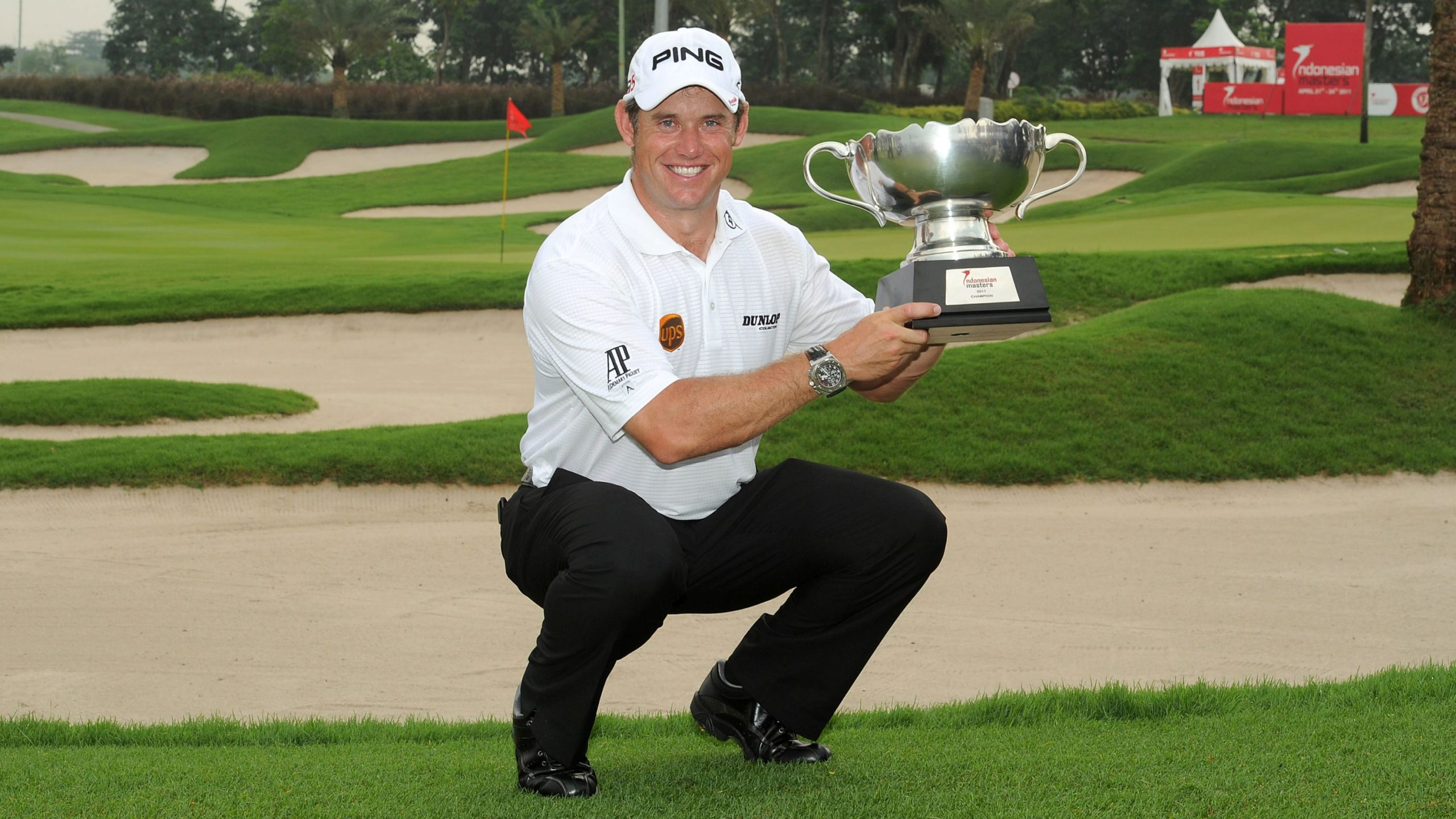 A birthday to remember for Westwood